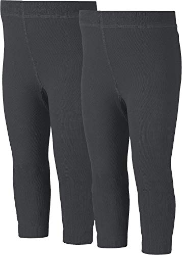 Erwin Müller Thermo-Leggings 2er-Pack Thermo anthrazit Größe 98/104
