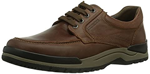 Mephisto Charles Grizzly 178 Chestnut, Chaussures Bateau Homme, Rouge (Black), 47