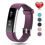 Lintelek Activity Tracker Slim Fitness Tracker Watch, Touch Screen Bluetooth Pedometer Smart Bracelet