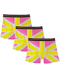 **Great Value** Mens 3pk Pink Union Jack Boxers!