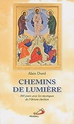 Chemins de lumière : 365 Jours avec les mystiques de l'Orient chrétien