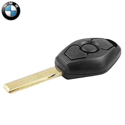 chiavit Coque clé Coque télécommande 3touches clés voiture BMW série