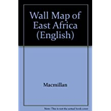 Wall Map of East Africa (English)