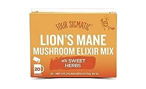 Four Sigmatic Lion's Mane Mushroom Elixier Mix (20 Beutel)