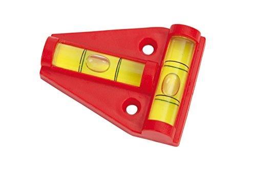 Preisvergleich Produktbild Bo-Camp Unisex Wasserstand Kreuz Torpedo, Rot, 6cm
