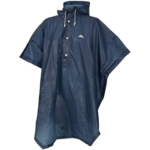 Trespass pabellón Packaway Poncho Azul azul marino Talla:Unidad
