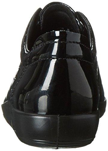 Ecco Damen Soft 2.0 Derby Schwarz (BLACK51052)