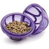 PetSafe Hundespielzeug, Busy Buddy Kibble Nibble S Futterball, Snackball, für Trockenfutter und Leckerlies, interaktiv, schadstofffrei, für kleine Hunde