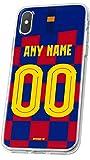 MYCASEFC PHONE CASE BARCELONA Wiko Rainbow Lite FOOTBALL