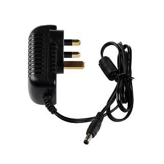 AUROX 12V 2A 2 amp24W DC POWER Supply Adapter, UK plug(or European plug),Great For Supplying LED Strip LED TAPE Lights