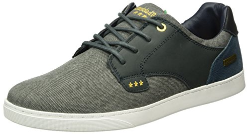 Pantofola d'Oro Herren Prato Canvas Low Men Top Blau (Blue Indigo)