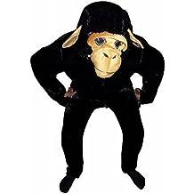 F84 Traje Gran mono, un tamaño XL, como los chimpancés para el Carnaval o Mardi Gras