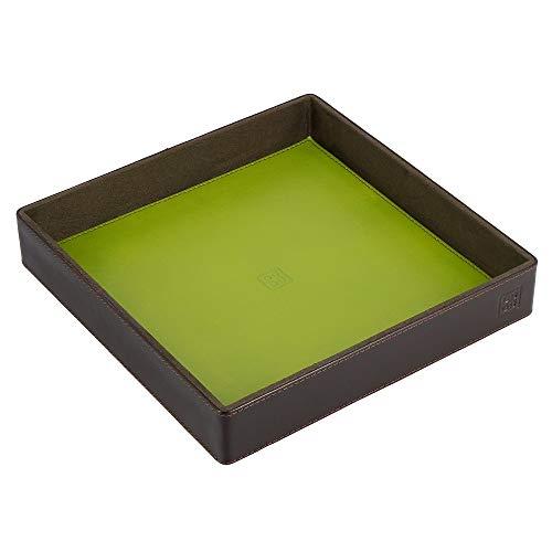 DUDU Vaciabolsillos en Piel Coloreado de Design Objetos con Caja Regalo Woods