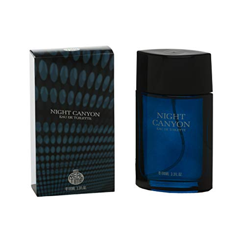Real Time Eau de Toilette pour Homme Night Canyon 100 ml
