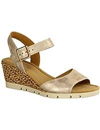 Gabor Pantolette Keilabsatz Sandale 37 12