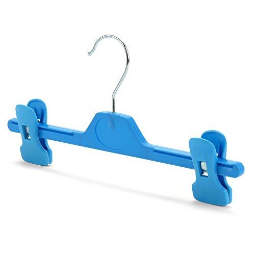 Hangerworld 10 Perchas 28cm Niños Plástico Azul