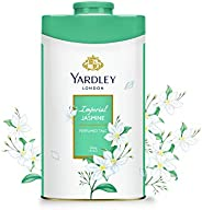 Yardley Jasmine perfumed Talcum Body Powder, sweet and bold jasmine scent - 250 gm