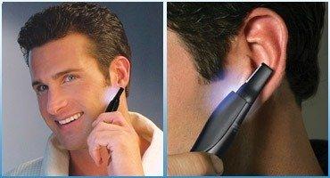 Afeitadora Micro Touch patillas Barba nariz Peli forma