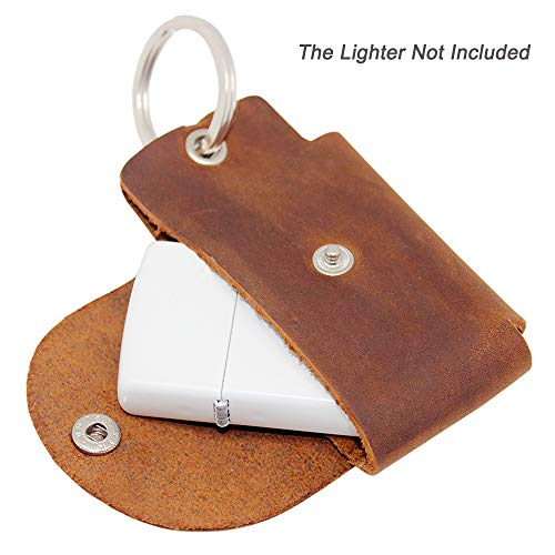 a39be6149a8a4 Boshiho EDC Fidget Spinner Case Holder, Genunine Leather Protective Pouch  Bag for Hand Spinner Toys or Lighter Pouch Case