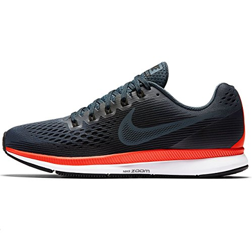 Nike Nike Air Zoom Pegasus 34 - blue fox/black-bright crimson-, Größe #:8.5 (34 Fox)
