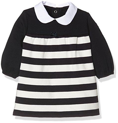 Steiff Collection Mädchen Kleid Kleid 1/1 Arm, Gr. 56, Mehrfarbig (y/d stripe 0001)