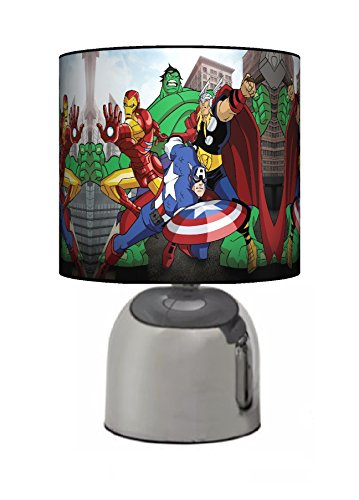 Desertcart saudi funky lampshades buy funky lampshades products marvel avengers hulk bedside touch lamp boys bedroom light lamp shade mains operated uk plug by funky lampshades aloadofball Choice Image