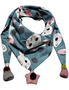 Dragon868 Schal Kinder, Winter Schal Mode Baby Schal Junge Mädchen Halstuch Kopf Hals Kind Schals