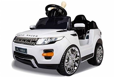 Sabway Coche eléctrico para niño Land Rover - Bateria 6V - Doble Motor 15W - 6KG - Incluye mando a...