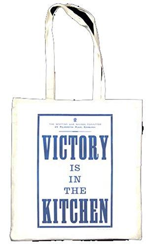 VICTORY est dans la cuisine Totebag