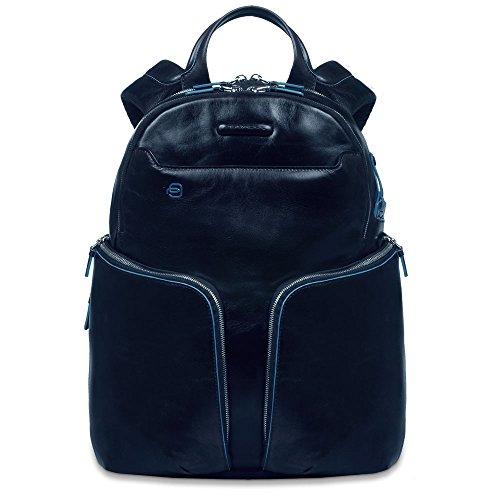 Piquadro CA3066B2 Zaino, Collezione Blu Square, Blu