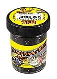 FTM Trout Finder Bait - KADAVER SCHWARZ mit Glitter TFT sinkender Forellenteig