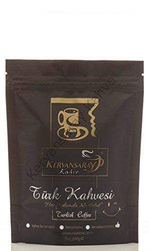 Kervansaray Türkischen gemahlenen Kaffee 100 g x 3