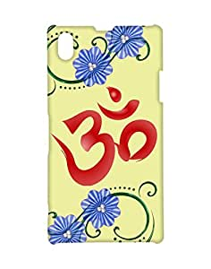 Mobifry Back case cover for Sony Xperia Z1 Mobile ( Printed design)