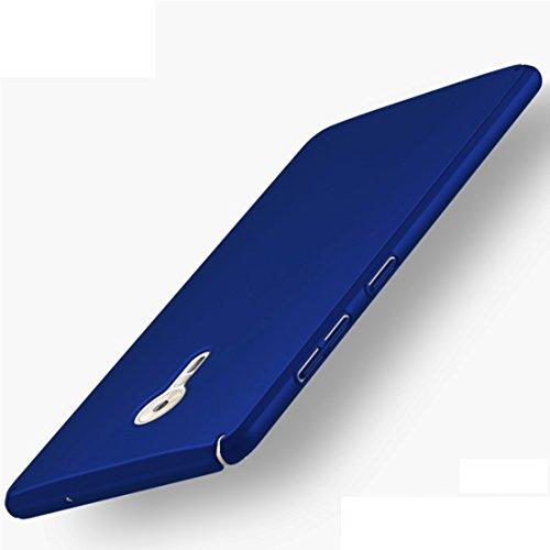 Apanphy ZUK Z2 Pro Hülle , Hohe Qualität Ultra Slim Harte Seidig Und Shell Volle Schutz Hinten Haut Fühlen Schutzhülle für ZUK Z2 Pro, Blau