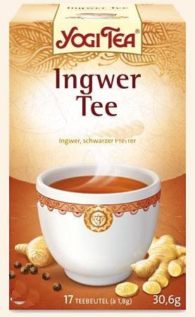 YOGI TEA Ingwer Bio Filterbeutel 30.6 g Filterbeutel