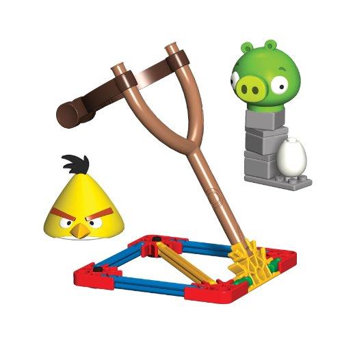 Tomy - Angry Birds - T72601 - Jeu de Construction - Yellow Birds Vs Medium Minion Pig