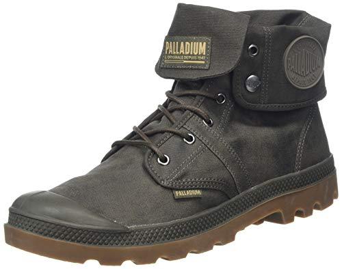 Palladium Unisex-Erwachsene Pallabrouse BGY Wax Schlupfstiefel, Grün (Arnum Major Brown/Mid Gum G39), 45 EU