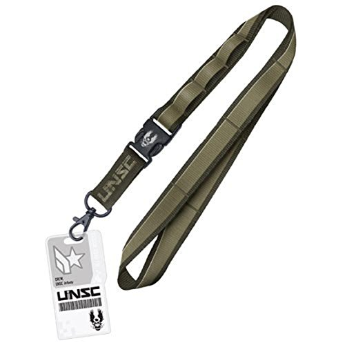 Halo 4 Lanyard With Charm UNSC A Crowded Coop