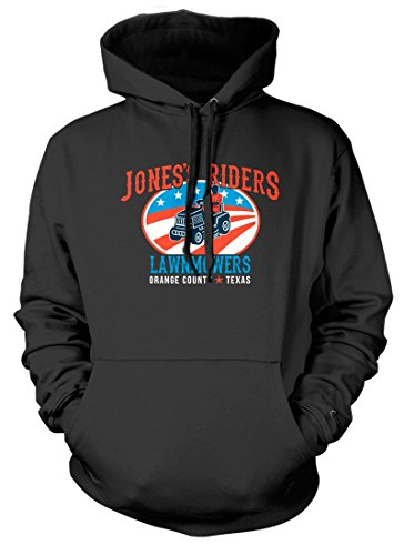 BathroomWall T-shirts George Jones Inspired Lawn Mower Country, Hoodie, Large, Anthrazit
