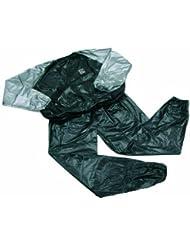 Ixo Sport 70820 - Chándal de sudación unisex, color gris / negro, talla única