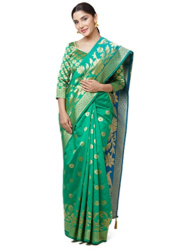 Indian E Fashion Women's Cotton Silk sarees new collection 2018 with Blouse...