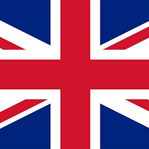 Magnet Frigo avec drapeau national britannique - 5 x 5 cm - Aimant pour les amis de la Grande-Bretagne