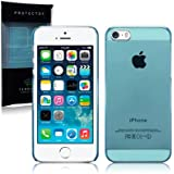 Call Candy Slim Fit Snap On Case for iPhone 5S - Blue