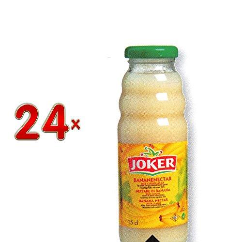 Joker Bananennectar 24 x 250 ml Flasche (Bananensaft)
