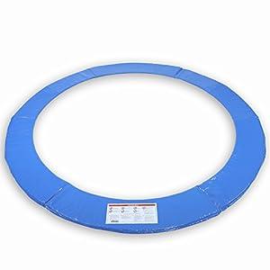 KIDUKU Trampolin Ersatzteile Randabdeckung | Ø 244cm 305cm 366cm 427cm | reißfest | 100% UV-beständig Federabdeckung Randschutz