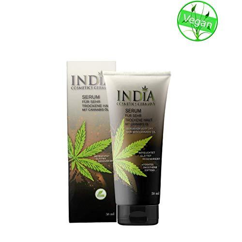 Serum Hautcreme mit Cannabis Öl. Hanfcreme für sehr trockene Haut und Gesicht. Hautpflege bei Schuppenflechte und Neurodermitis. Cannabis Creme für schöne Haut -