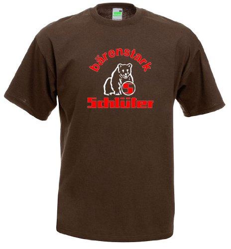 Schlüter T-Shirt, Größe XL, braun