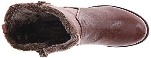 Steven Steve Madden Cozy Femmes Cuir Botte d'hiver brown