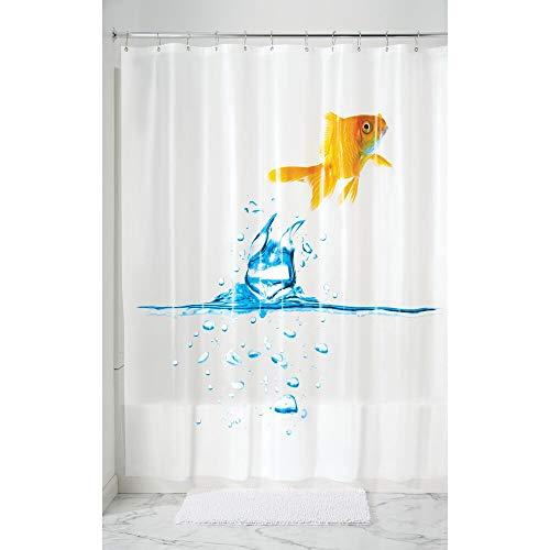 MDesign Cortina baño antimoho - Cortina ducha 12