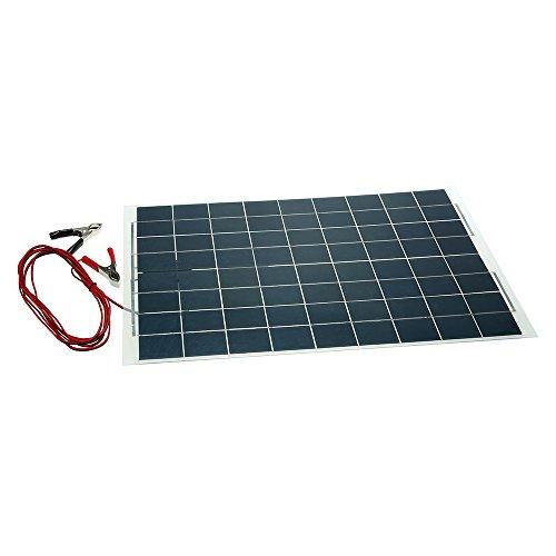 Cargador de batería semi flexible del dispositivo del panel solar de 30W 12V  Característica: Resistencia al envejecimiento, resistencia a la corrosión, efecto de luz débil. Alta eficiencia de conversión, larga vida útil, para garantizar la máxima po...